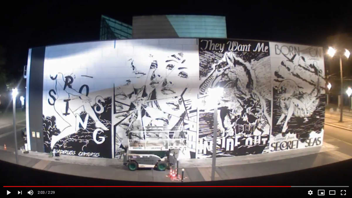 [Making of] FAILE at the Modern and Contemporary Art Museum in Strasbourg