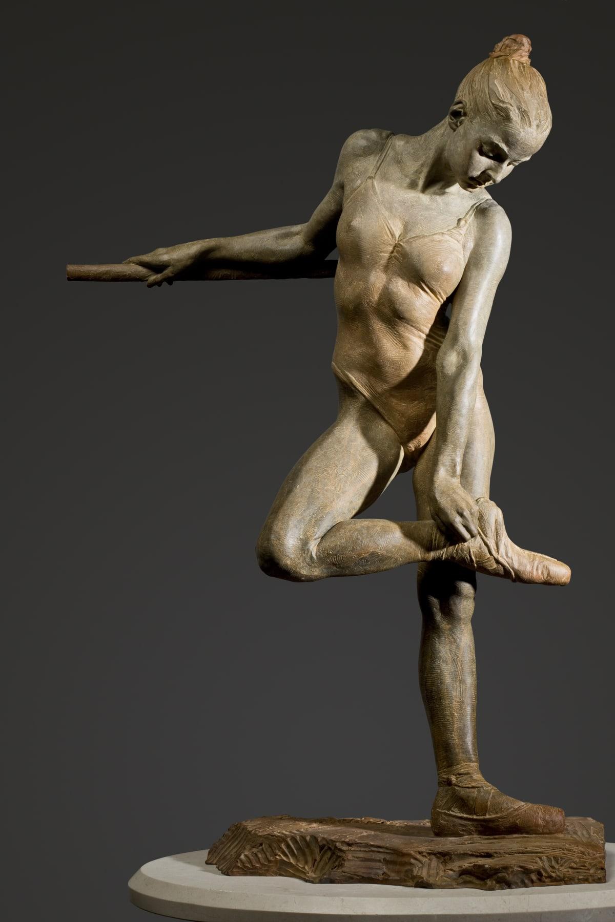 "Richard MacDonald Study for the Rose, Half Life, 2005 Bronze 32.25""H x 21.5""W x 15""D"