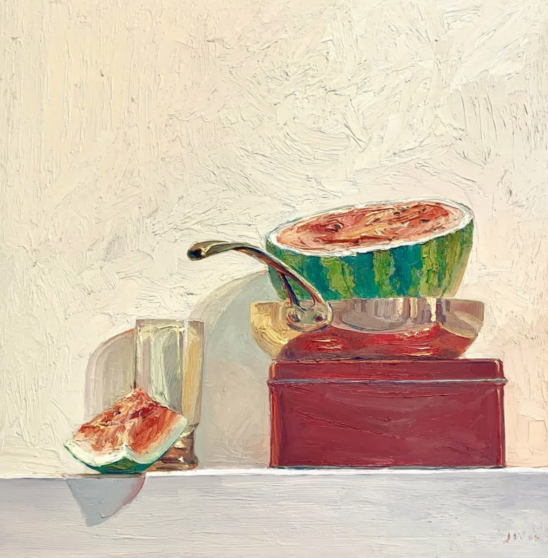 Jian Wang Still Life with Watermelon, 2005