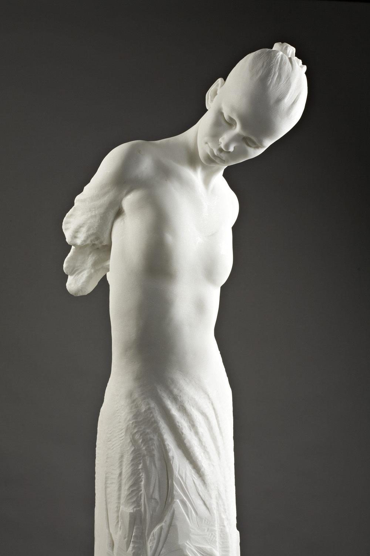 Richard MacDonald Angelic Crystal Column, Marble