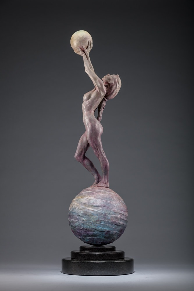 Richard MacDonald, Diana Earth & Moon, Third Life, 2018