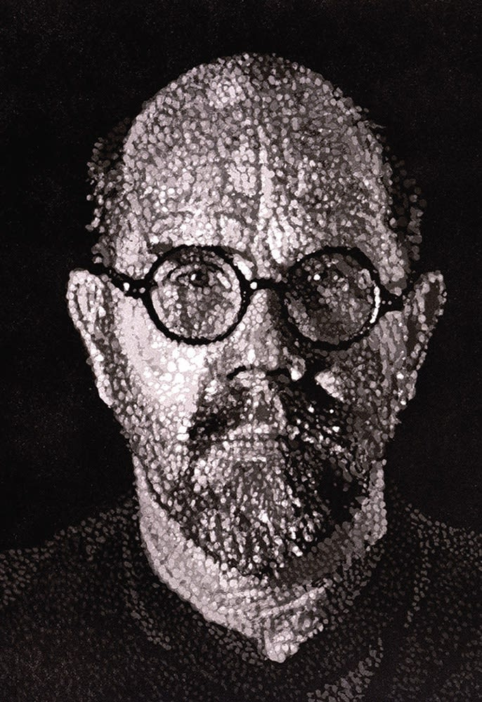 Chuck Close, S.P. I (Self Portrait), 1997