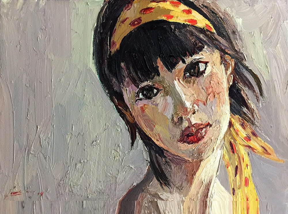Jian Wang, Chinese Girl - Xioaqlin #2, 2010