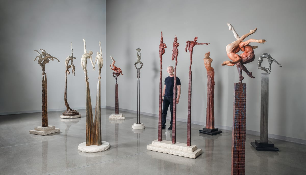 Richard MacDonald - A Convergence of Spires, ARTIST RECEPTION OCTOBER 5 & OCTOBER 6