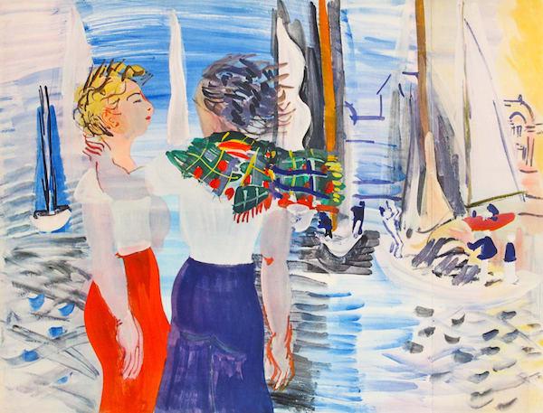 Raoul Dufy, Le Vin Contre la Depression Nerveuse et l'Anemie, 1936