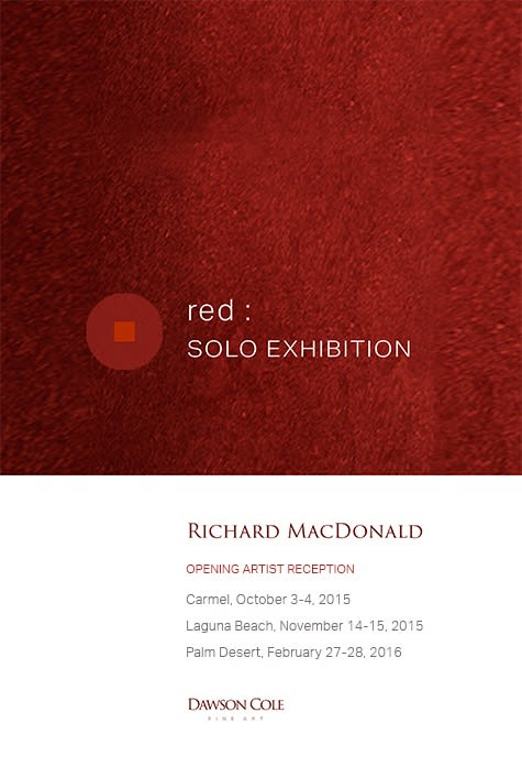 Richard MacDonald: Red