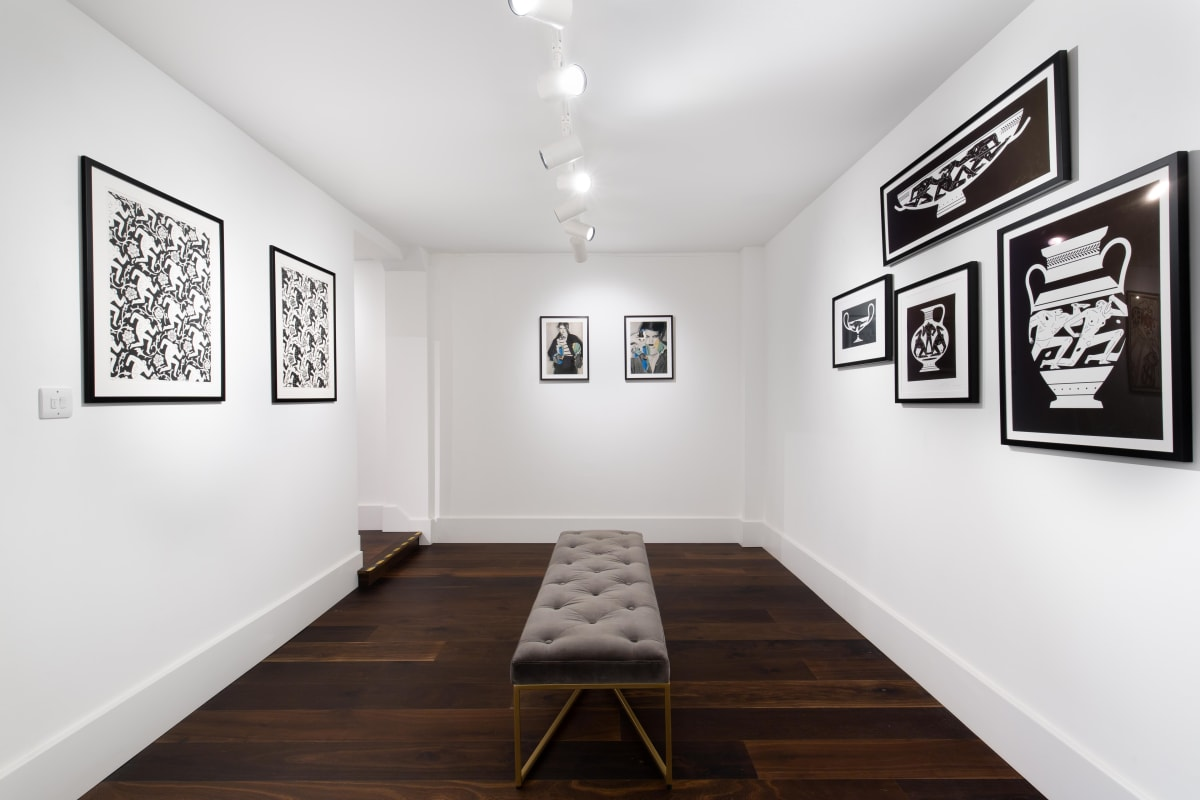 Shepard Fairey Cleon Peterson Ehryn Torrell Lasting Impressions Exhibition Dellasposa Gallery