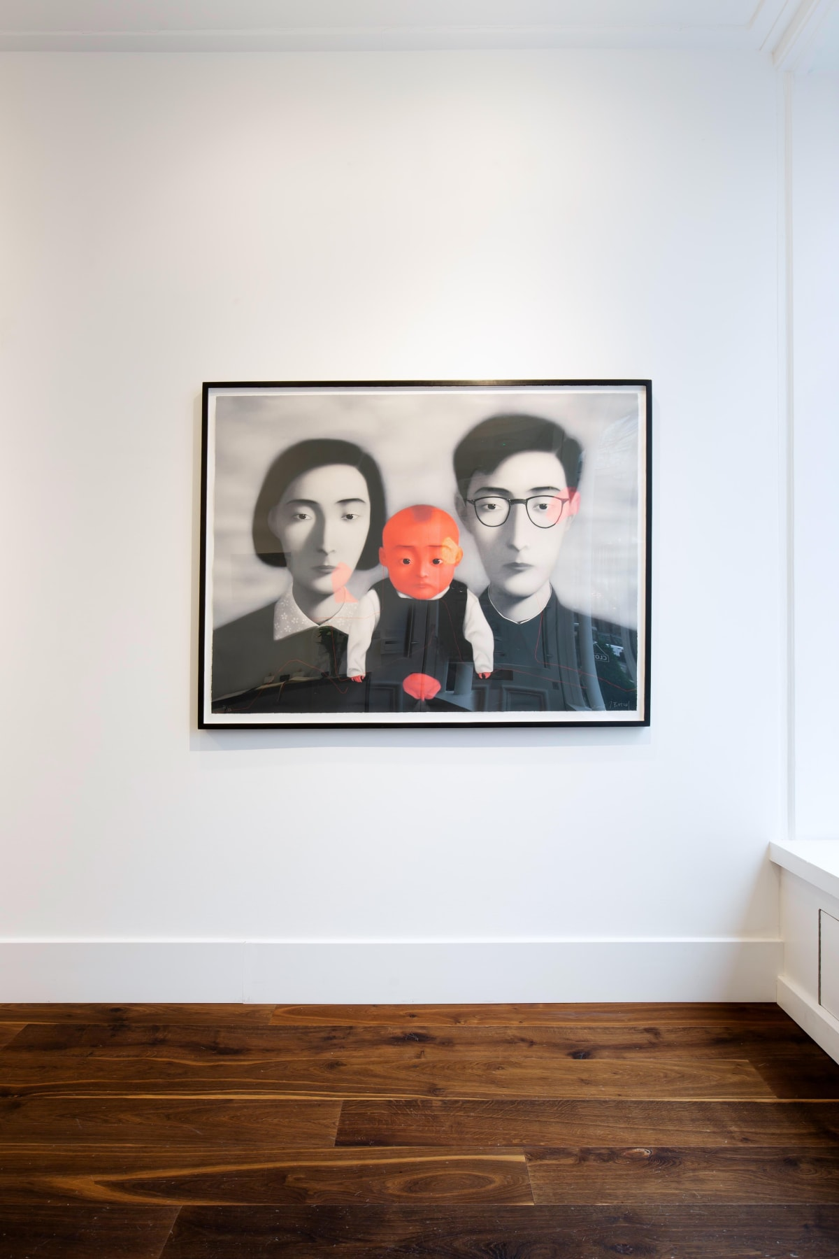Zhang Xiaogang Bloodline: Big Family, 2006 Lithograph Dellasposa Gallery