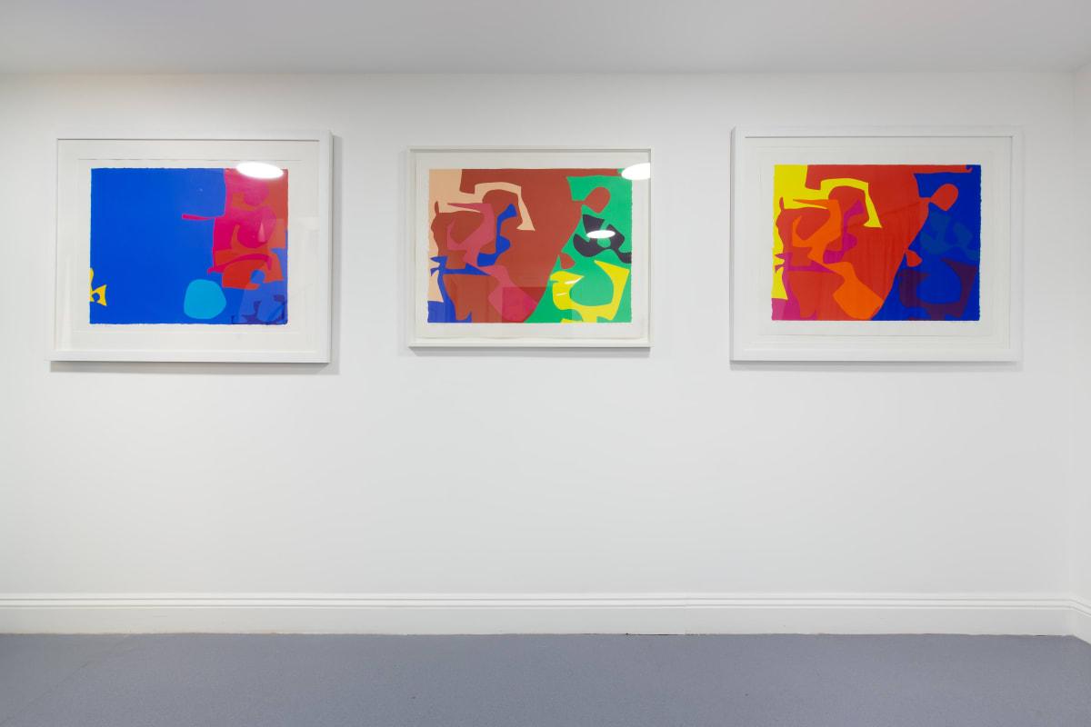 Patrick Heron Screenprint Dellasposa Gallery