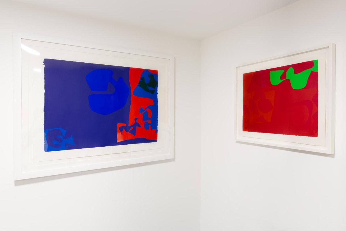 Patrick Heron limited edition screenprint dellasposa gallery