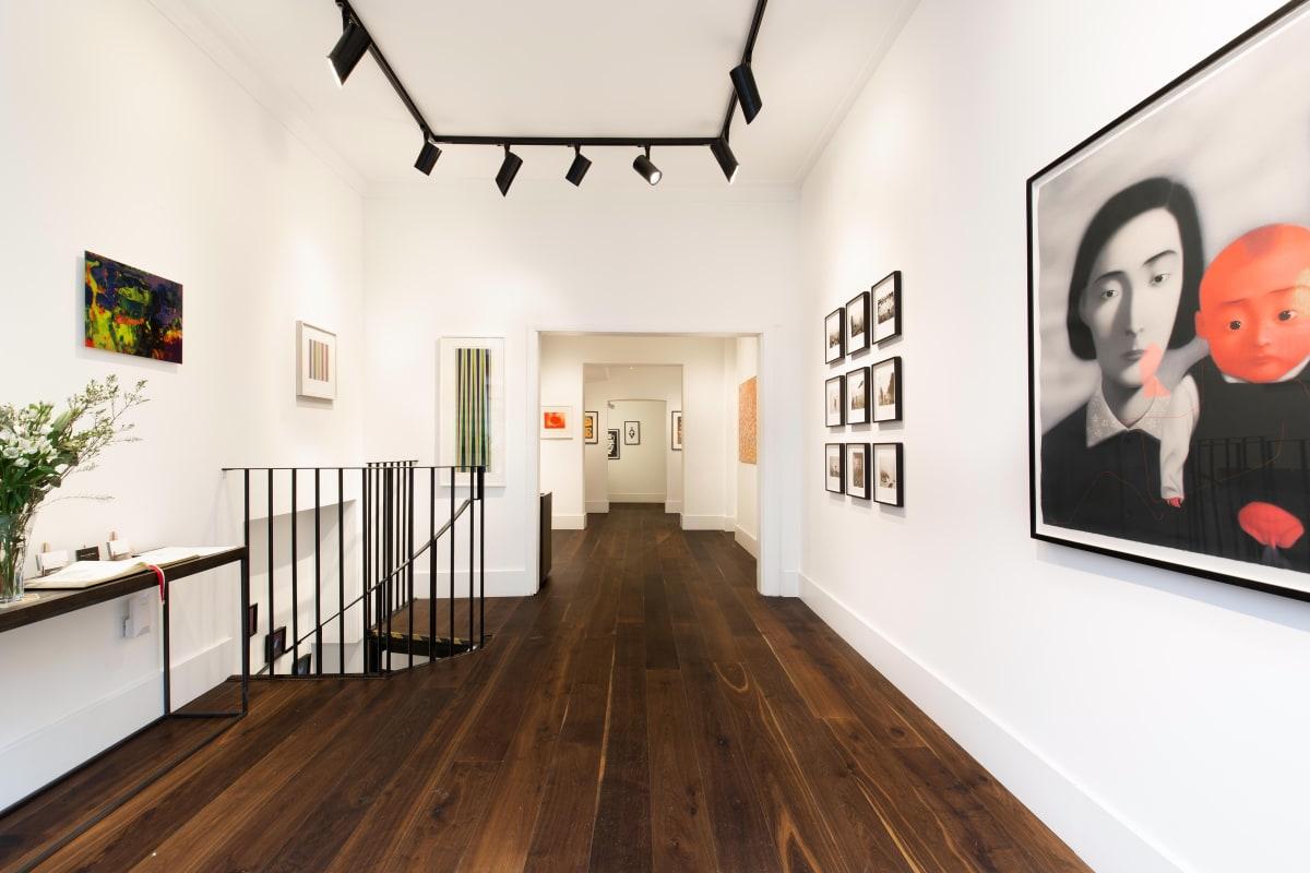 Zhang Xiaogang Gerhard Richter Hiroshi Sugimoto Bridget Riley Dellasposa Gallery