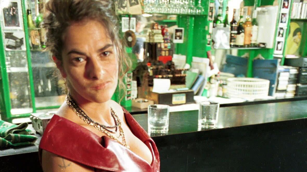 Tracey Emin in the Colony Room Club REX/SHUTTERSTOCK