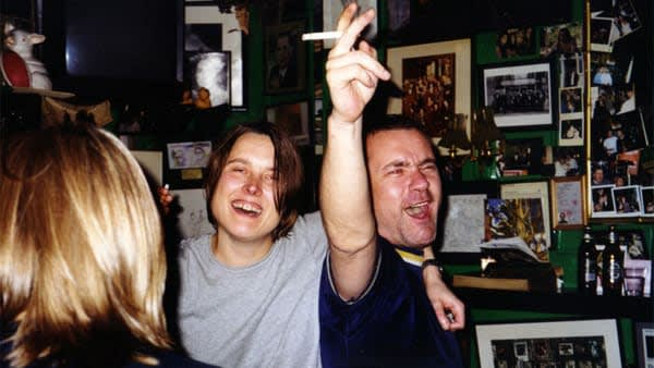 Sarah Lucas and Damien Hirst party at The Colony Room, Pascal Latra / Tales From The Colony Room