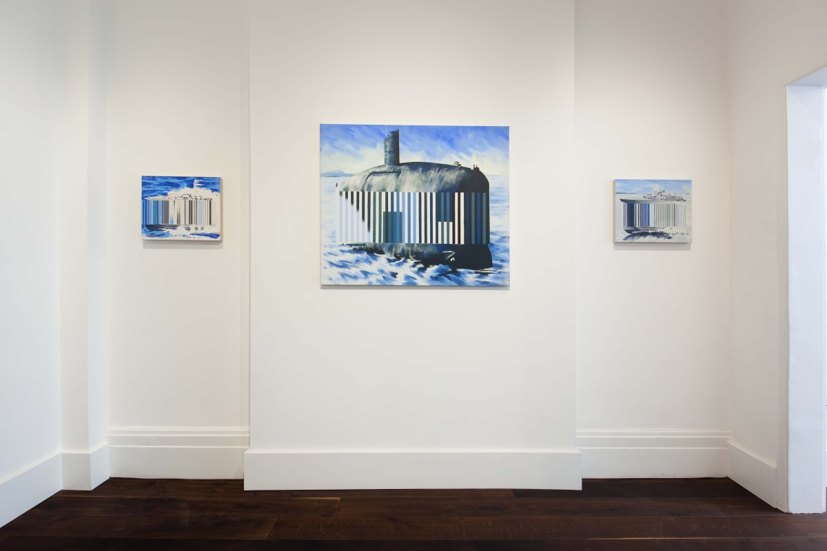 Darren Coffield Against The Tide Installation shot