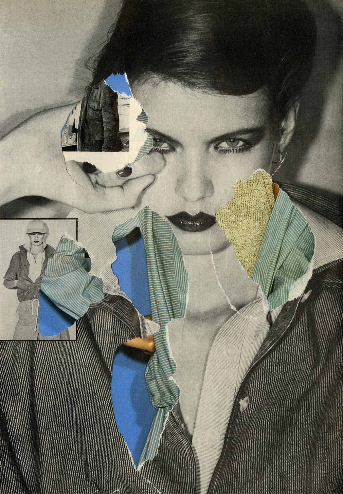 Ehryn Torrell, Secondary Collage [02], 2017
