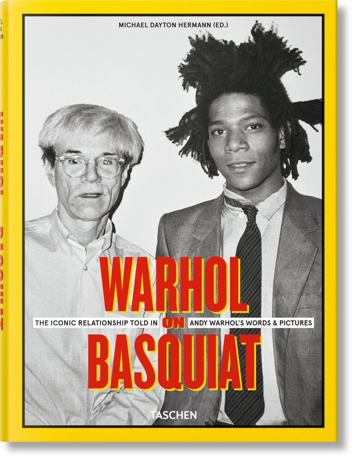 Warhol on Basquiat