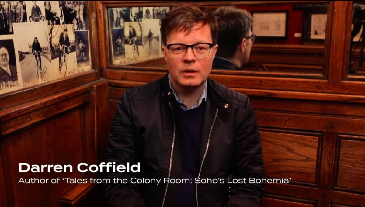 Darren Coffield: Tales from the Colony Room