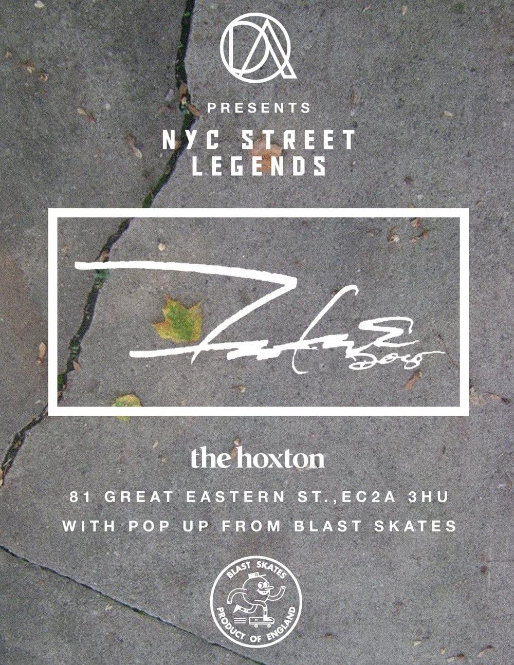 Distassi Art present 'NY Street Legends' at The Hoxton Hotel