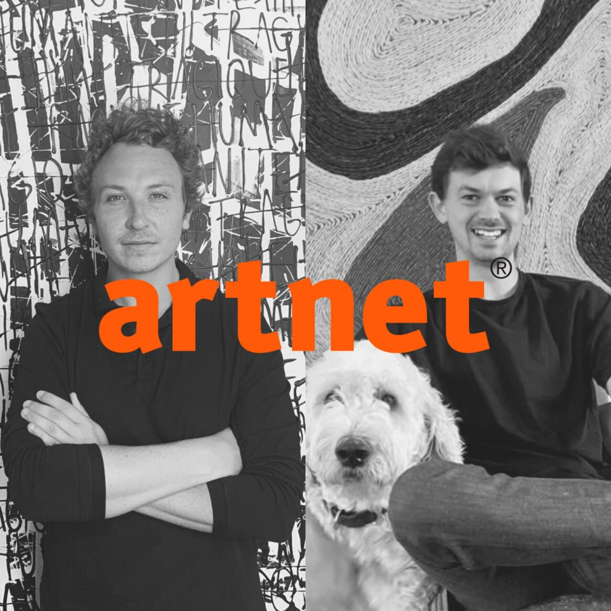 Edward Sanders & Michael Howes, founders of D'Stassi Art.
