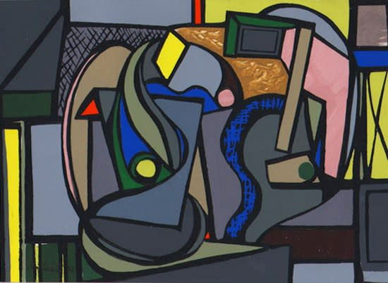 Judith Rothschild, Composition (46.11), 1946