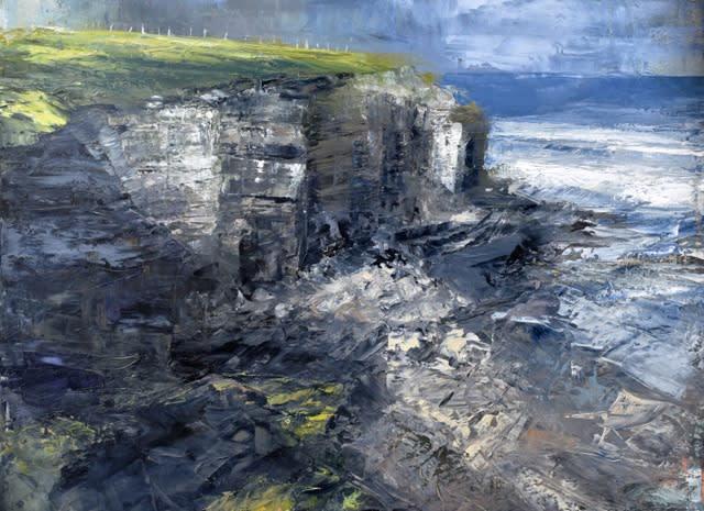 Donald Teskey, Coastline III, 2015