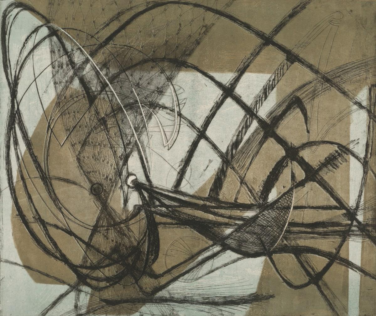 Minna Citron, Squid Under Pier, 1948-49
