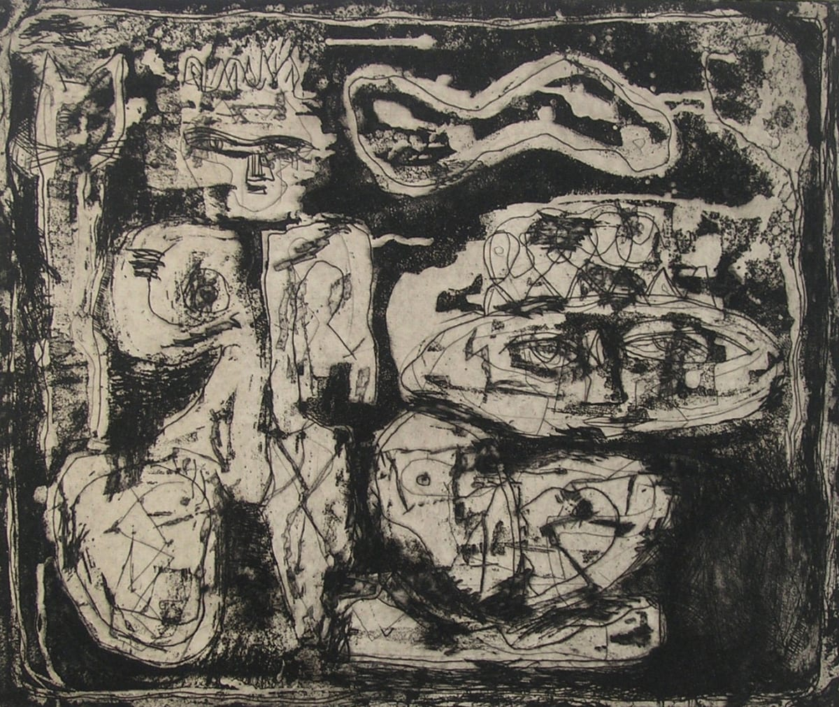 Louise Nevelson, The Wild Jungle, c. 1953