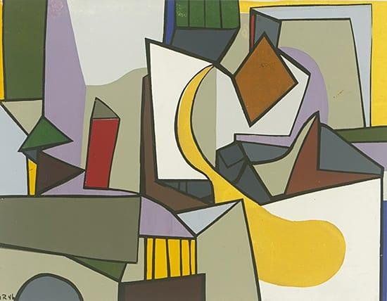 Judith Rothschild, Composition (46.10), 1946