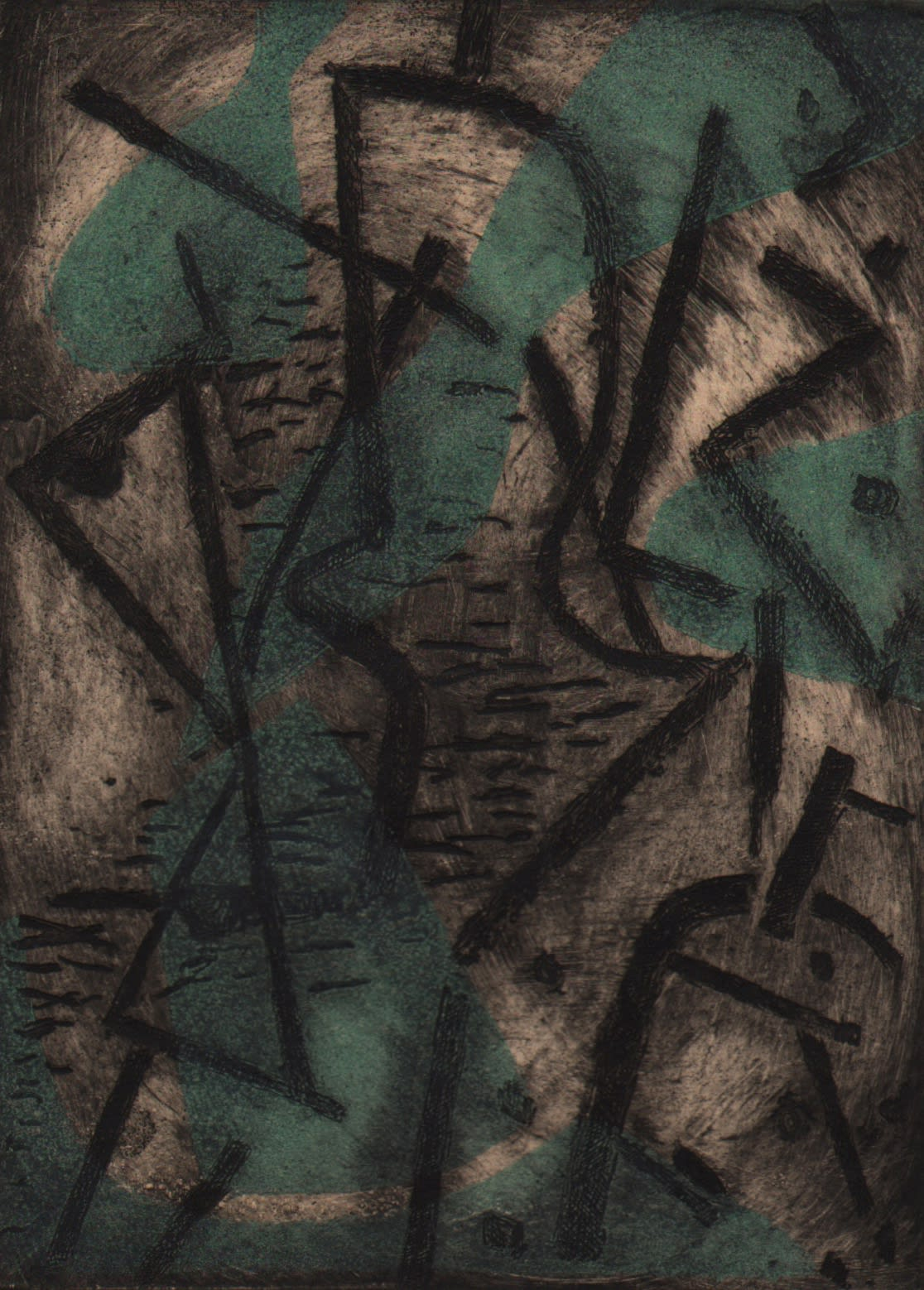 Perle Fine, Deep of the Night, 1946