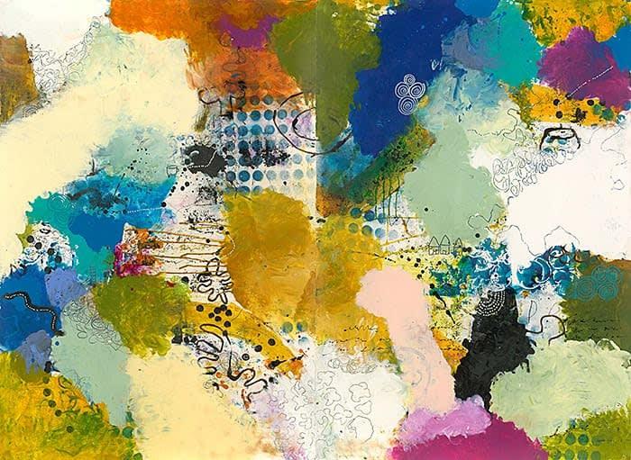 Cheryl Warrick, New Frequencies: Exploring Possibilities in Paint, The Deleware Contemporary, Wilmington, DE