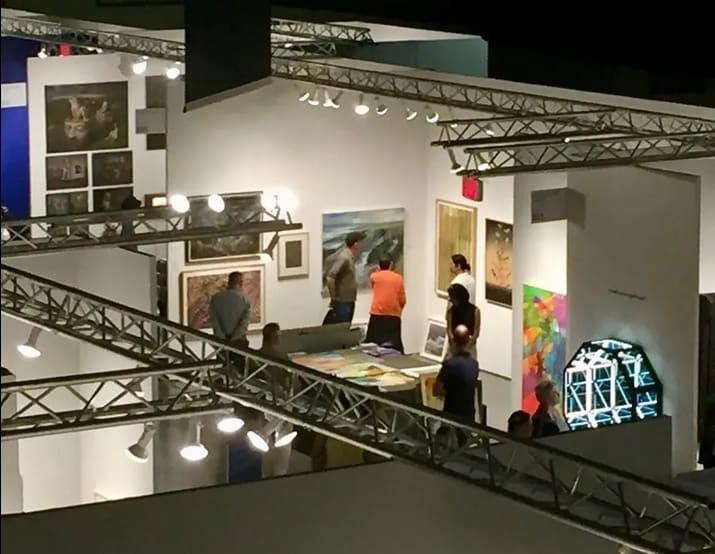 Seattle Art Fair 2020, CenturyLink Field Event Center, Seattle, WA