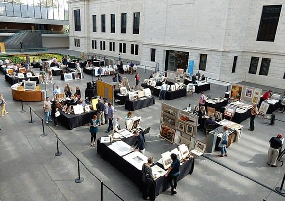 Fine Print Fair, Cleveland Museum of Art, Cleveland, OH