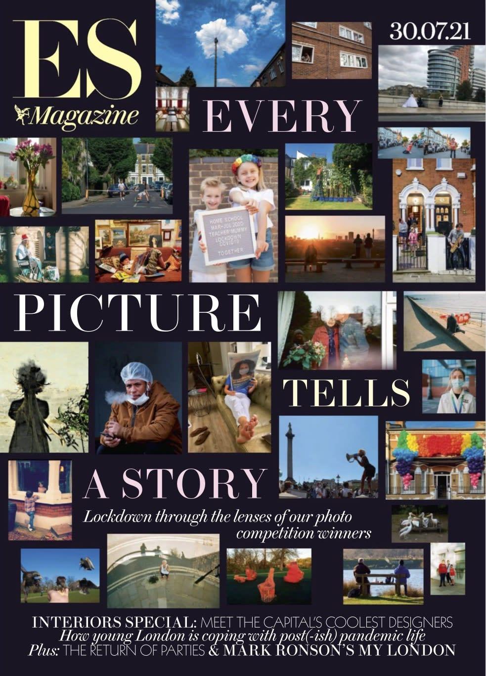 8 Holland Street in ES Magazine Interiors Special