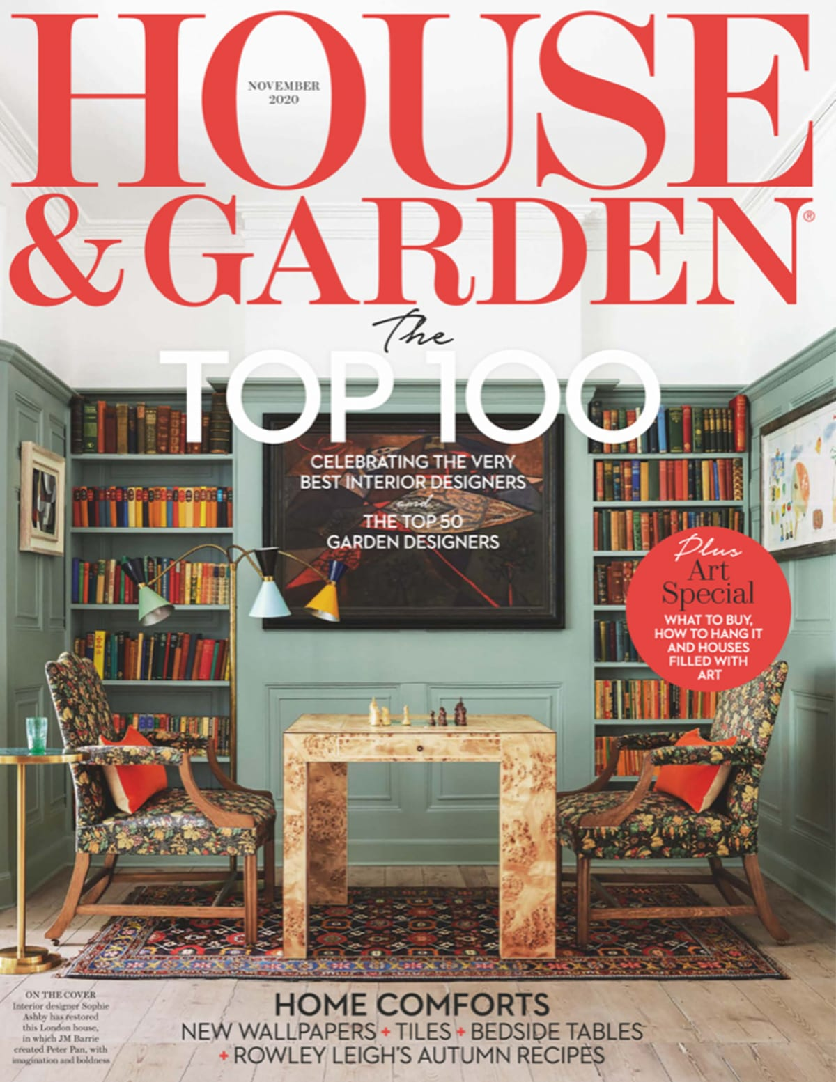 8 Holland Street in House & Garden: TOP 100