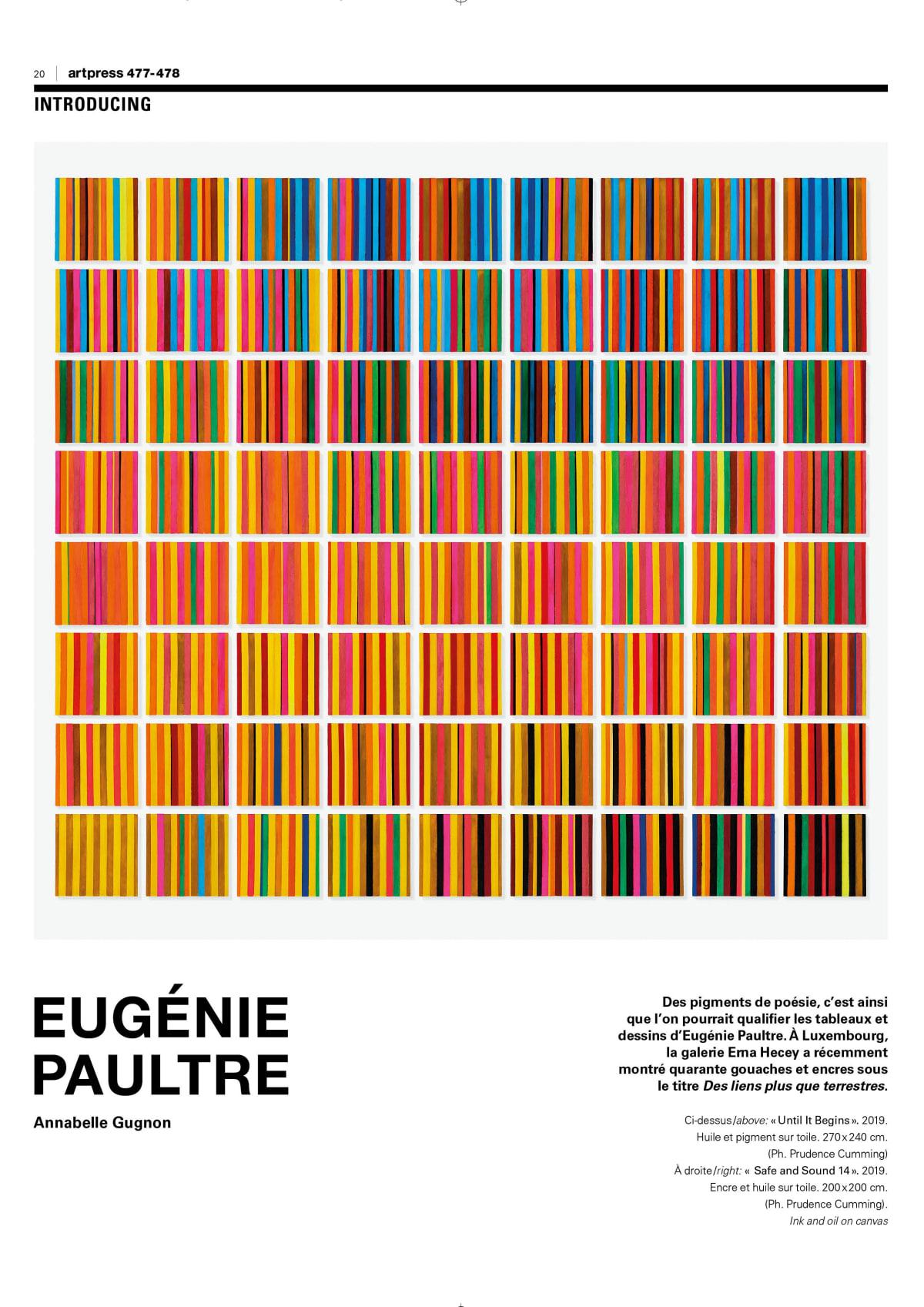 article-couverture-artpress-eugéniepaultre-gugnon
