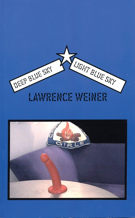 Lawrence_Weiner_Deep_Blue_Sky_2003_book