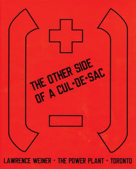 Lawrence_Weiner: The_Other_Side_of_A_Cul-De-Sac_2009