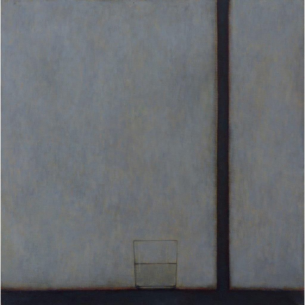 Emma Alcock Glass III, 2015 oil on canvas 66 x 66 cm