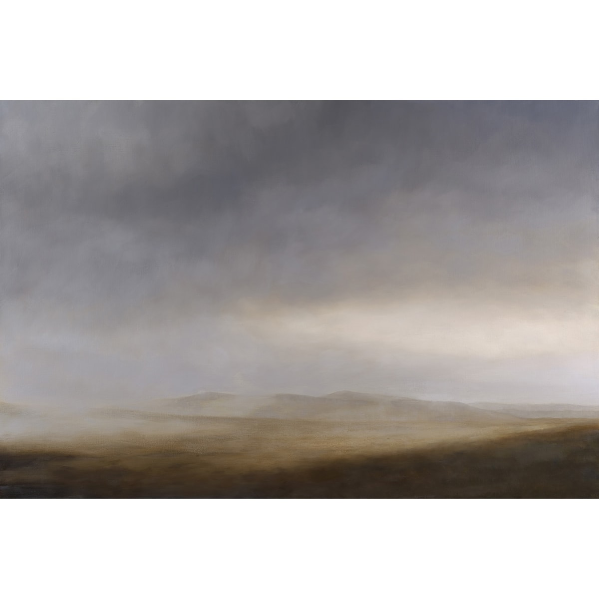 Victoria Orr Ewing Rannoch Moor, 2019 initialled and dated '19; titled, initialled and dated verso oil on canvas 146 x 97 cm