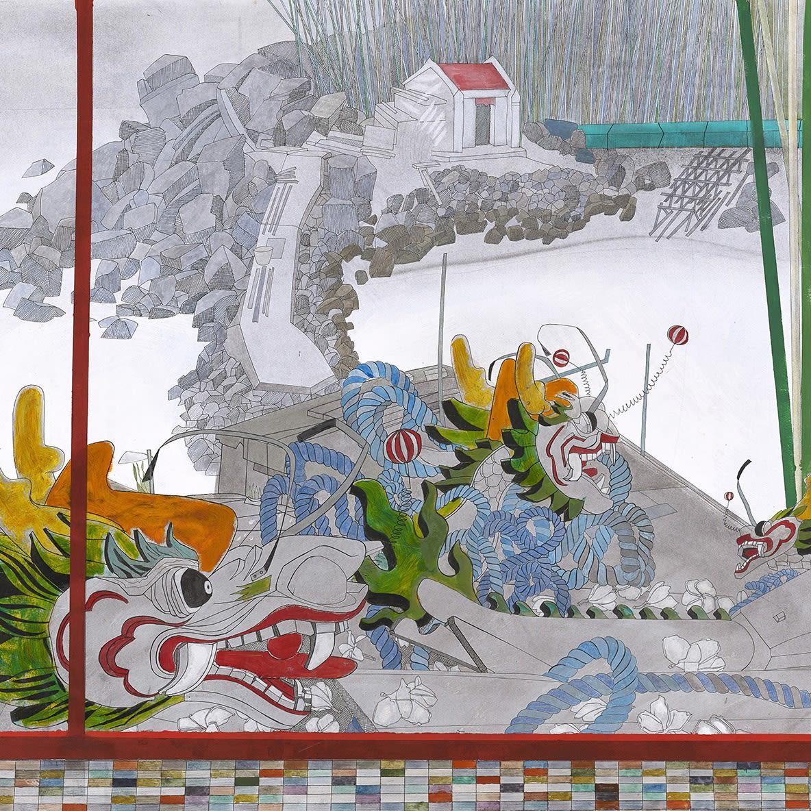 "/""Life and Death/"" — Giclee Fine Art Print Folk Art c19th century"