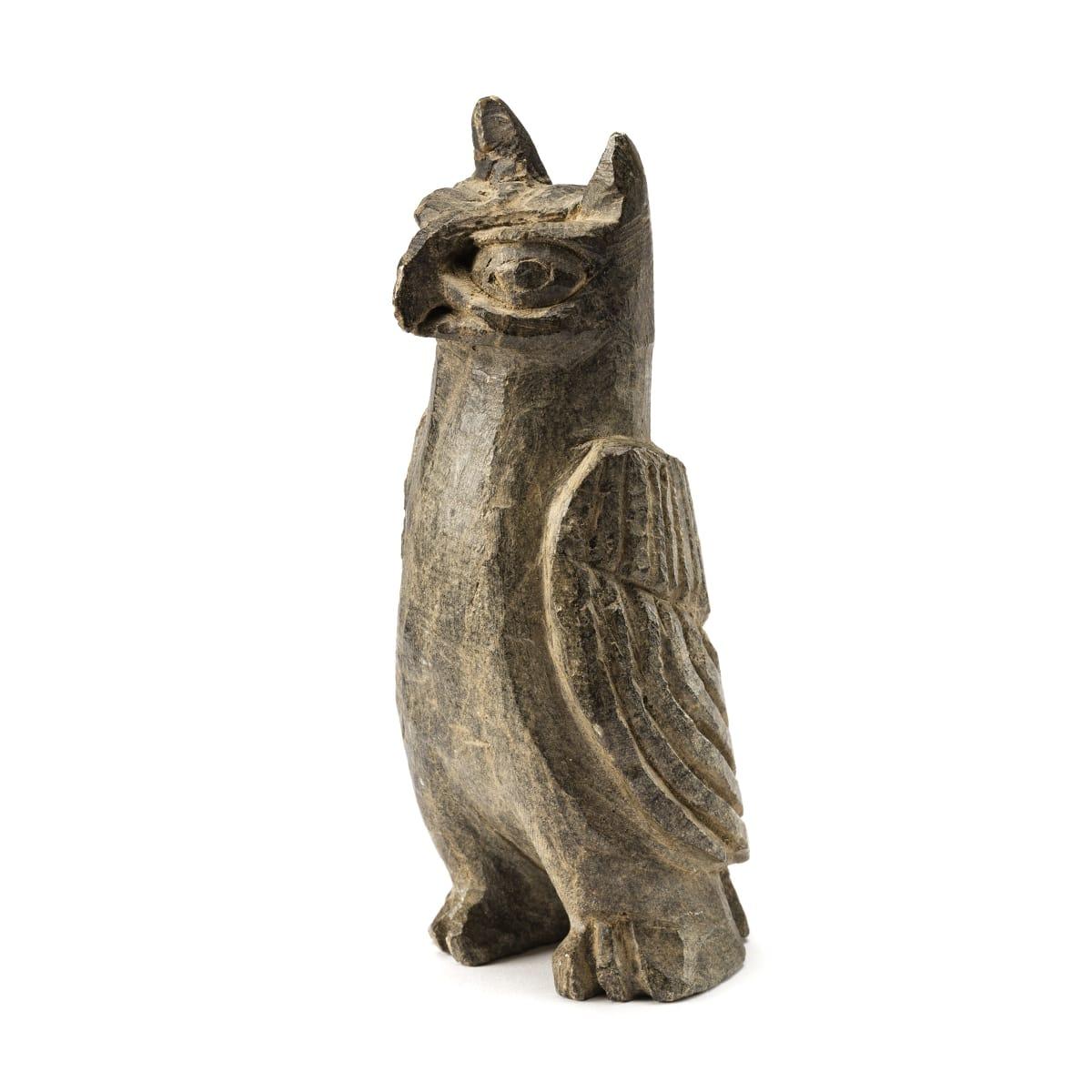 JOE TALIRUNILI (1893-1976) PUVIRNITUQ (POVUNGNITUK) Owl REALIZED: $5,280