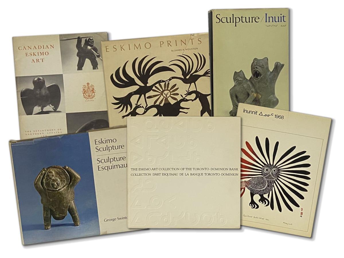 Lot 84 Quantity of Inuit Art Publications Estimate: $300 — $500