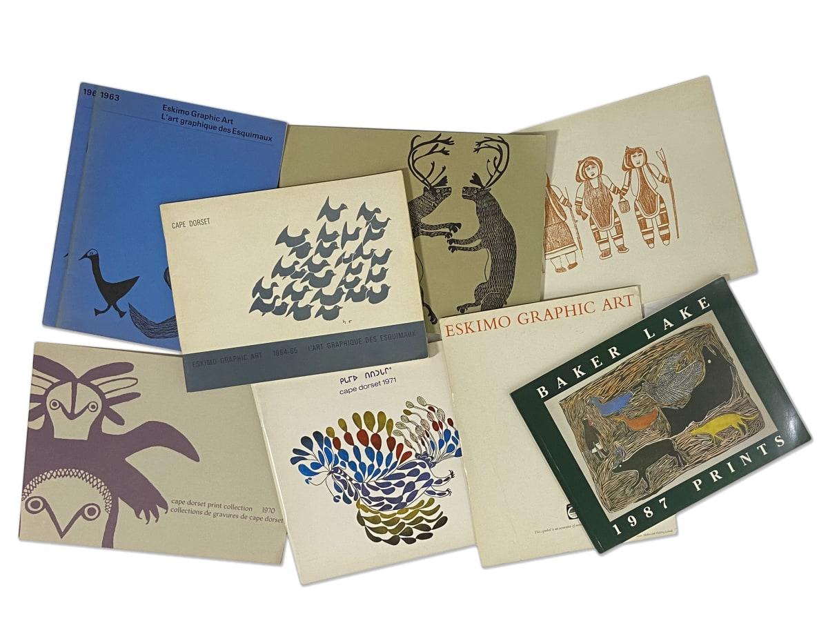 Lot 88 Quantity of Publications on Inuit Prints Estimate: $70 — $100