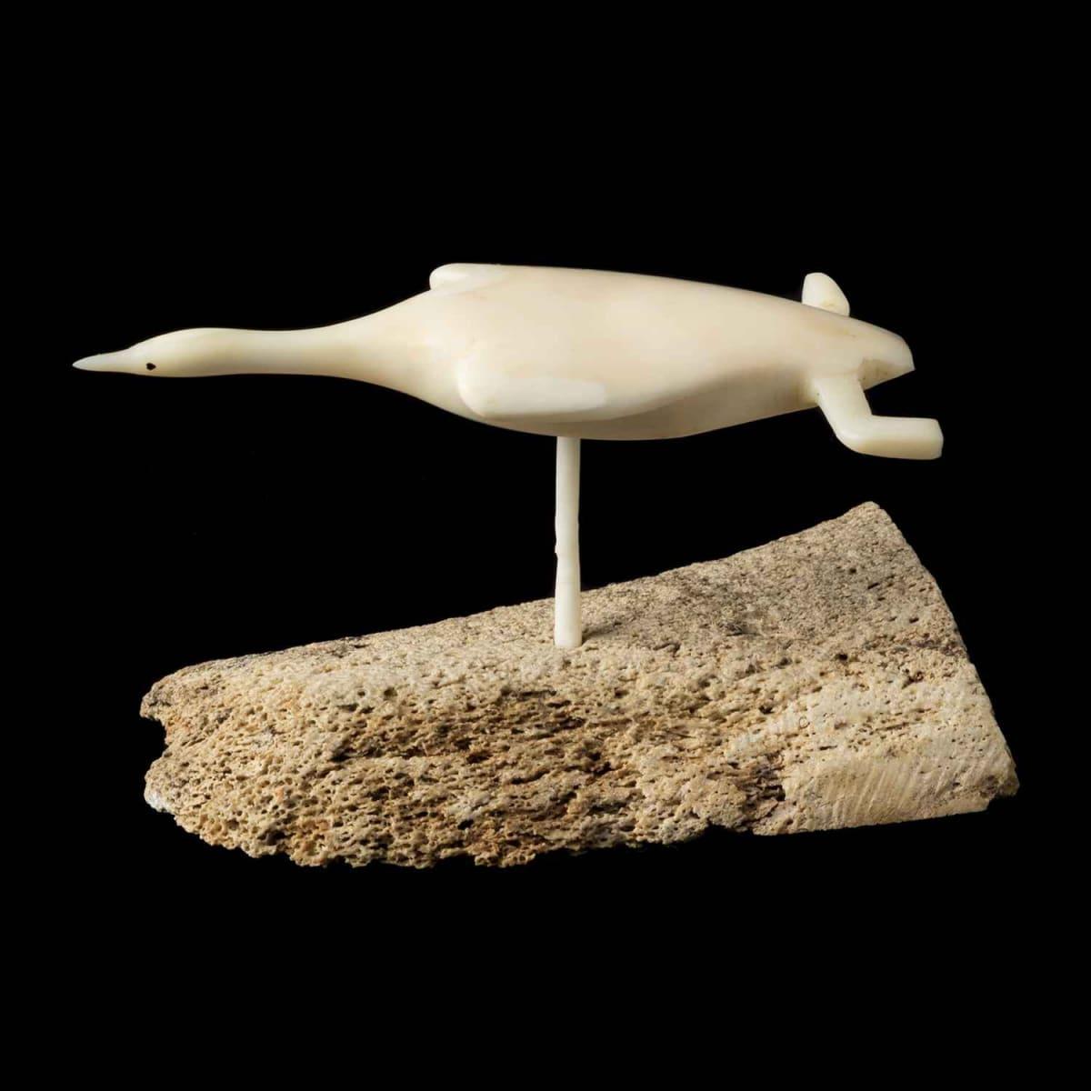 33. Attributed to: FABIEN OOGAAQ (1923-1992), KUGAARUK (PELLY BAY) Flying Bird, 1970
