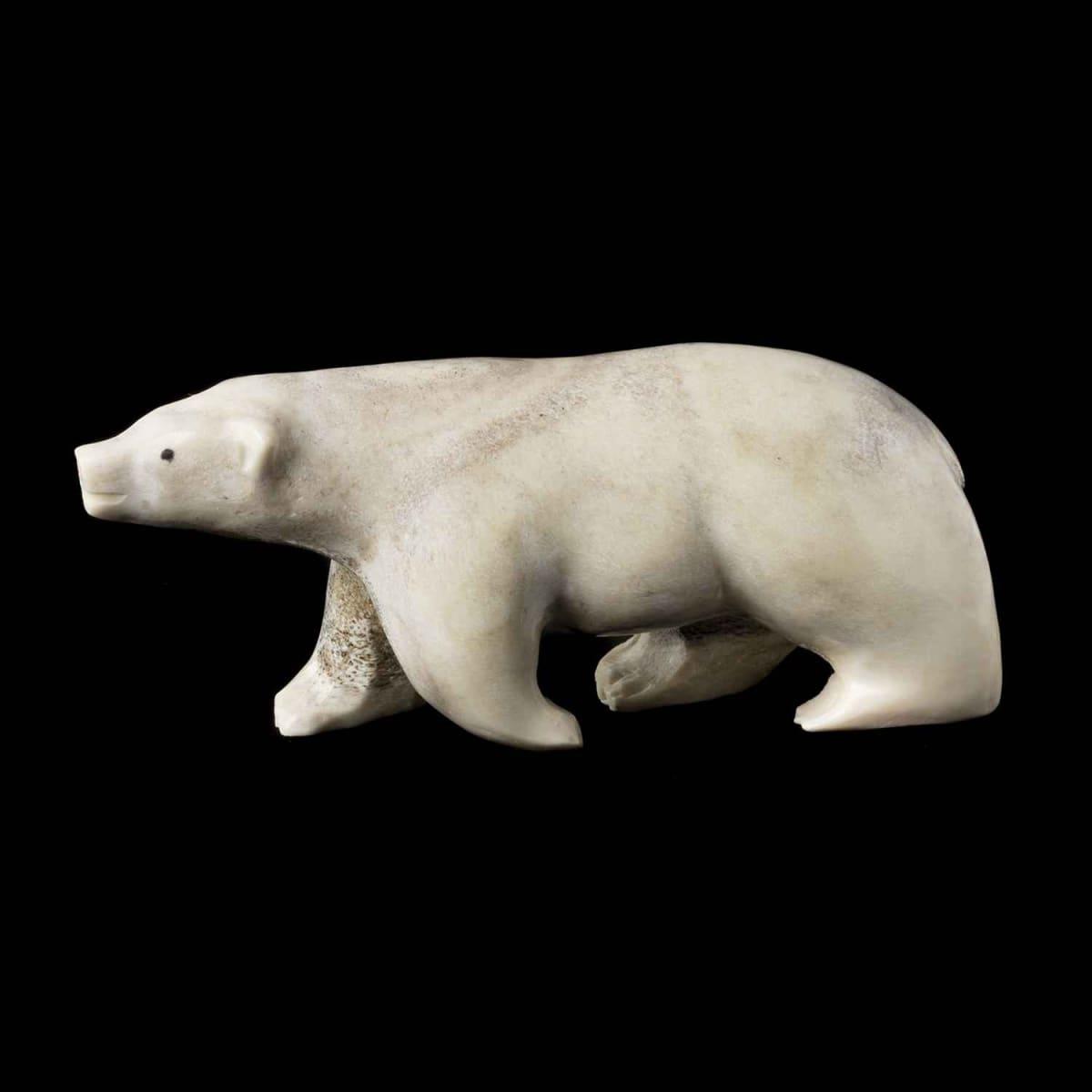 24. UNIDENTIFIED ARTIST, CAPE DORSET Walking Polar Bear, 1982 SOLD