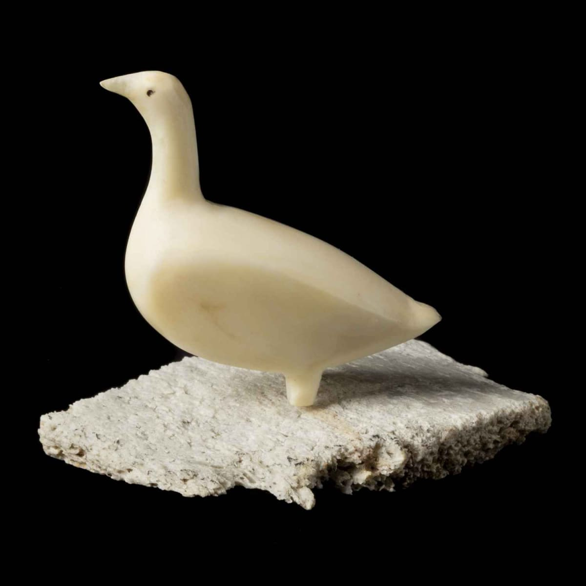 34. UNIDENTIFIED ARTIST, KUGAARUK (PELLY BAY) Standing Bird, 1971