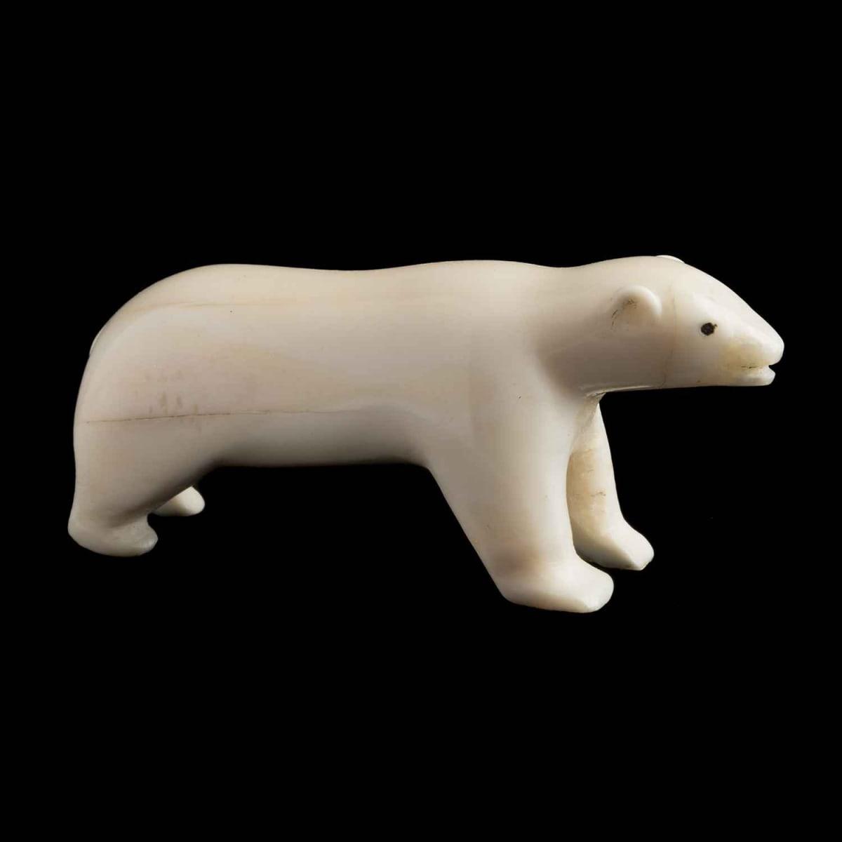 55. UNIDENTIFIED ARTIST, KUGAARUK (PELLY BAY) Polar Bear, 1968