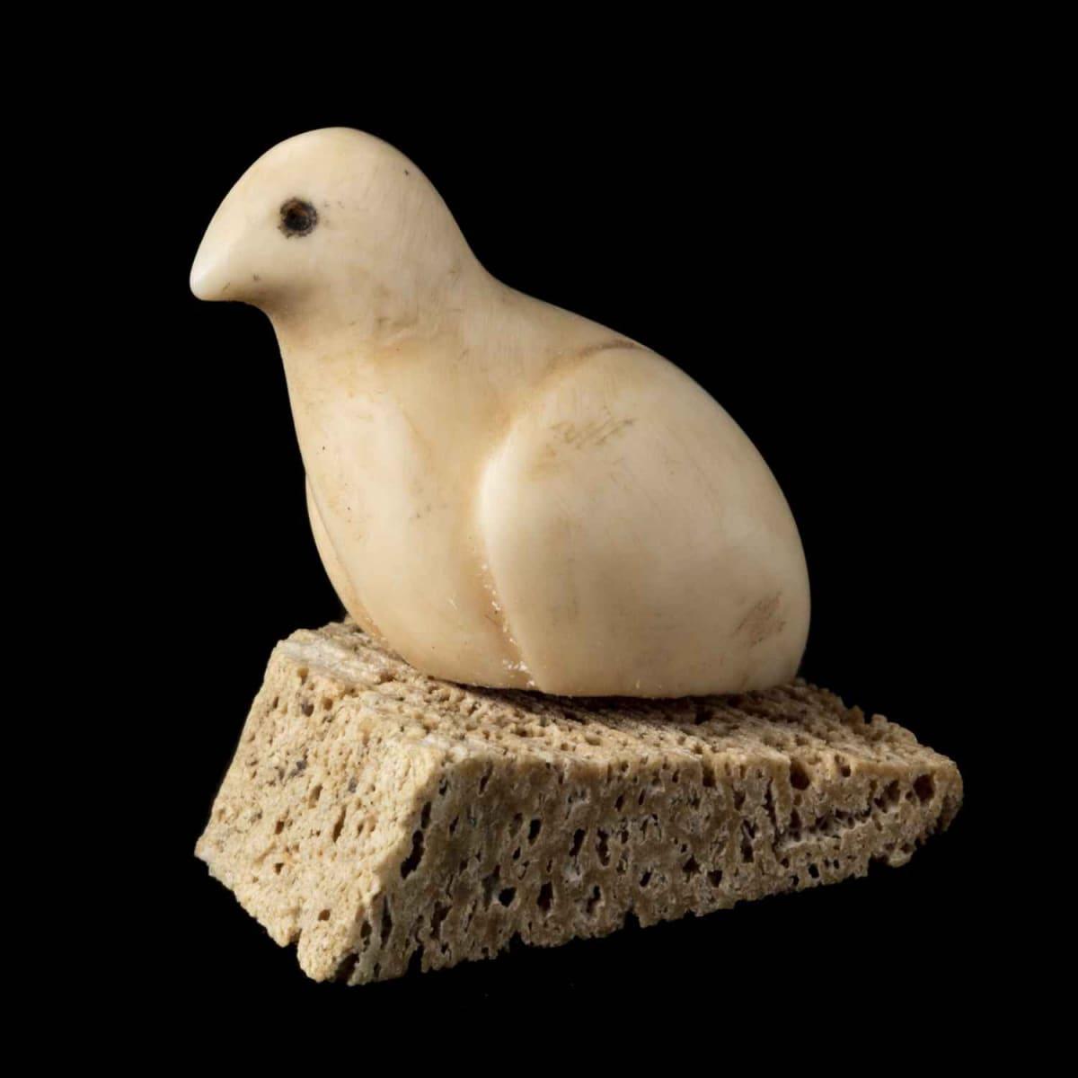 46. UNIDENTIFIED ARTIST, KUGAARUK (PELLY BAY) Bird, 1971