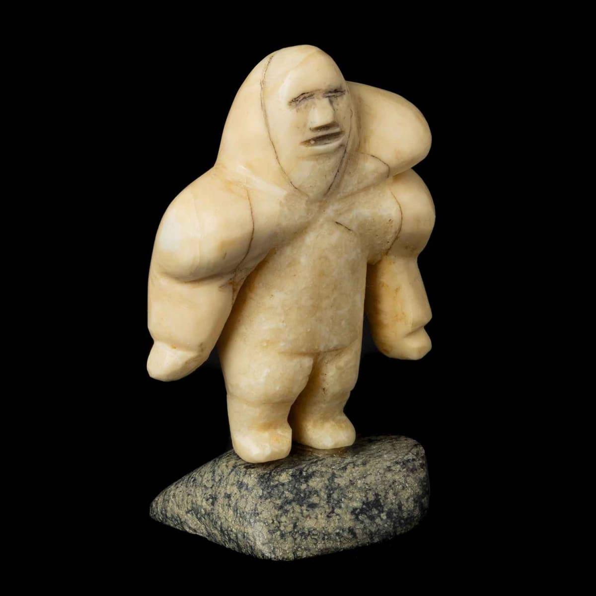 13. Possibly: MATHEW KUROK (1940-), NAUJAAT (REPULSE BAY) Woman in an Amautiq, 1963