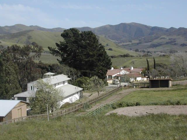Wesley and Donna Anderegg's Ranch and Ceramics Studio- Santa Rita Hills, California